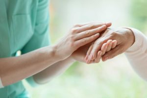 Dementia caregiver who received training with Open Door